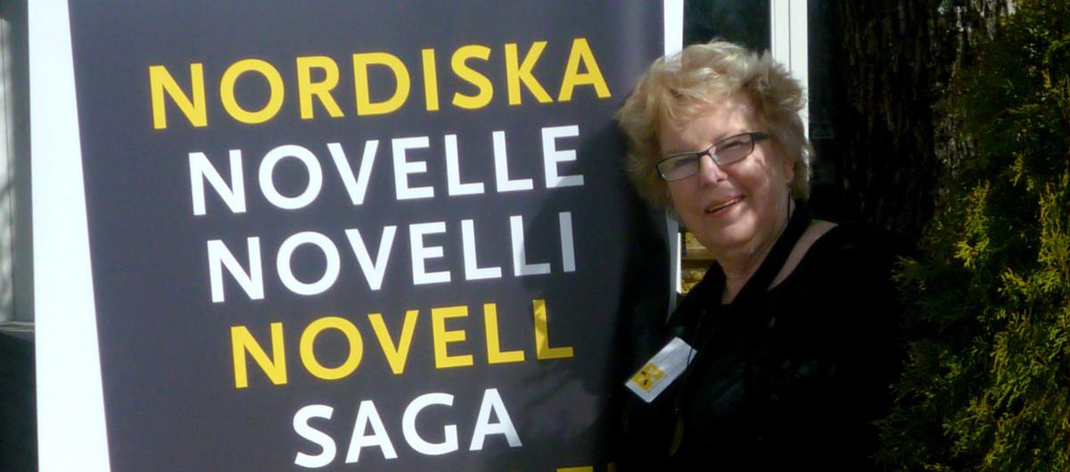 Anita K Alexanderson, huvudansvarig Nordiska Novelldagen / foto Åsa Carlsson