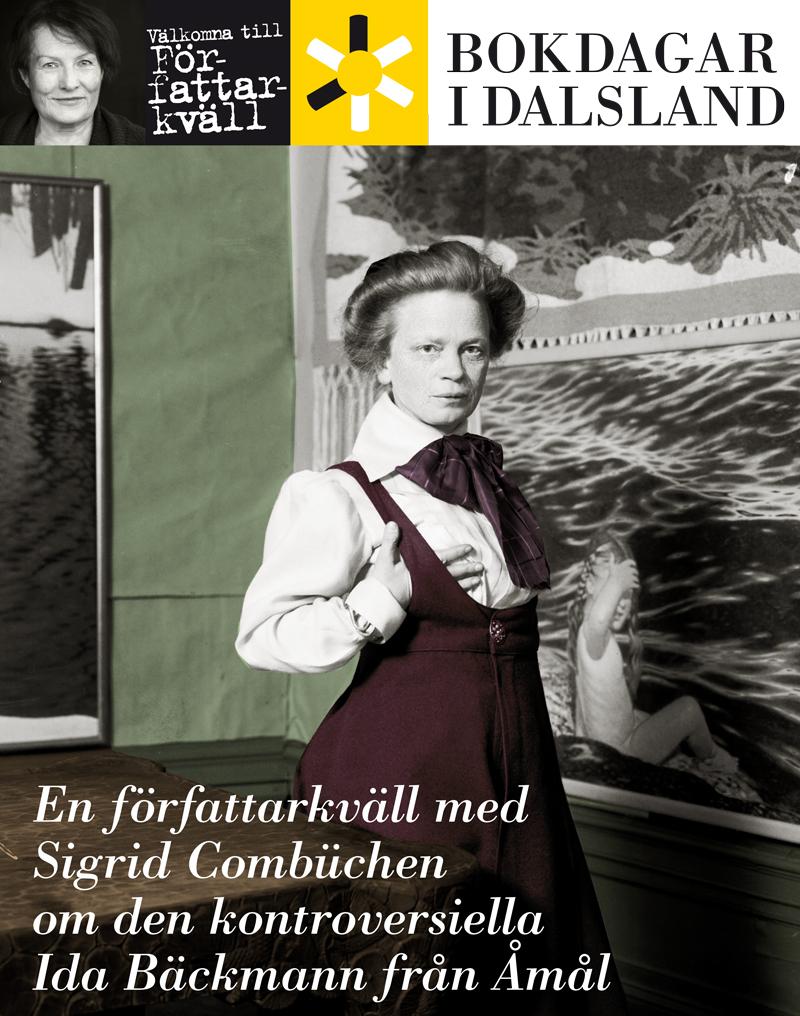Sigrid Combüchen om IdaBäckmann-författarkväll