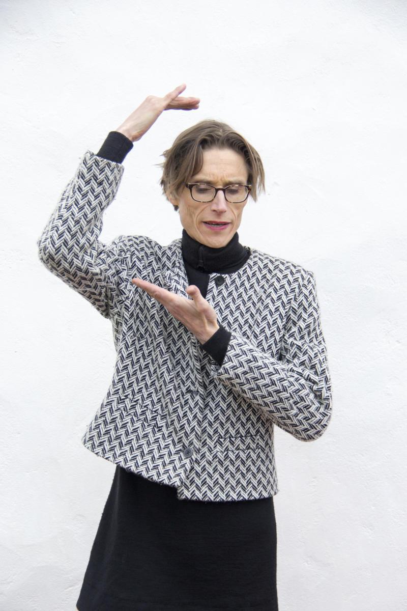 (Claus Beck) Madame Nielsen på Bokdagar i Dalsland foto Åsa Carlsson BID