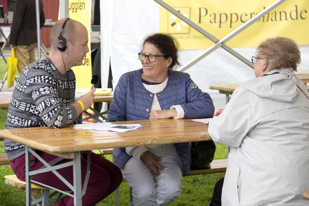 Sigrid Combüchen intervjuvas