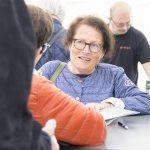 Sigrid Combüchen signerar, Bokdagar 2015
