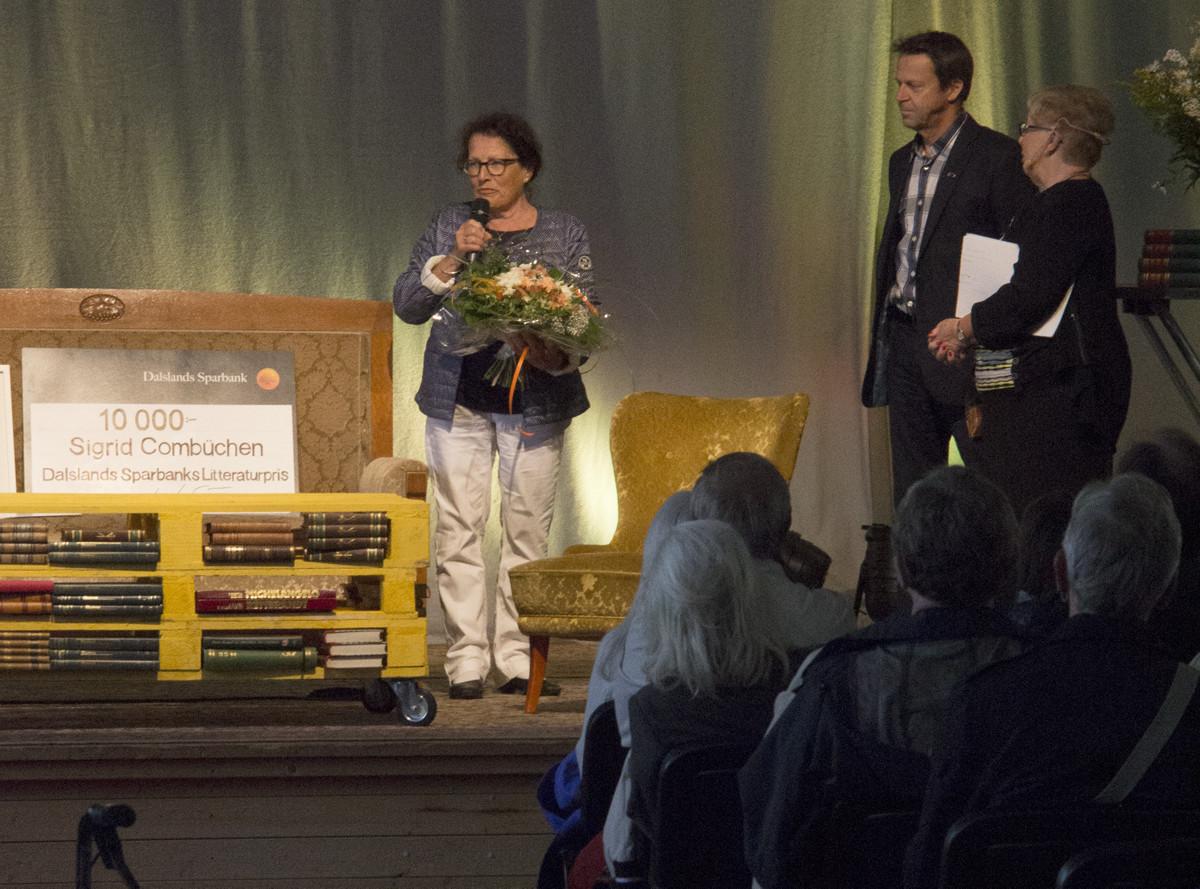 Dalslands Sparbanks Litteraturprisutdelning 2015