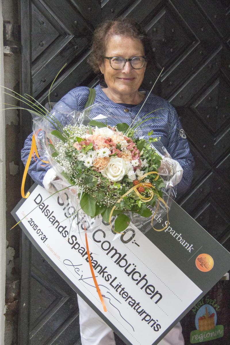 Dalslands Sparbanks Litteraturpris 2015 tilldelades Sigrid Combüchen
