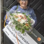 Dalslands Sparbanks Litteraturpris 2015 tilldelades Sigrid Combüchen under Bokdagar i Dalsland