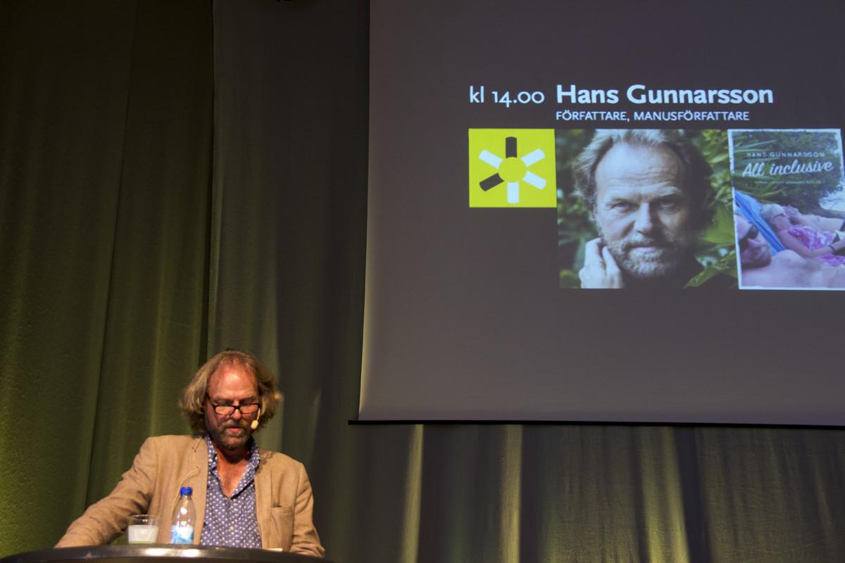 Hans Gunnarsson BID15 scen