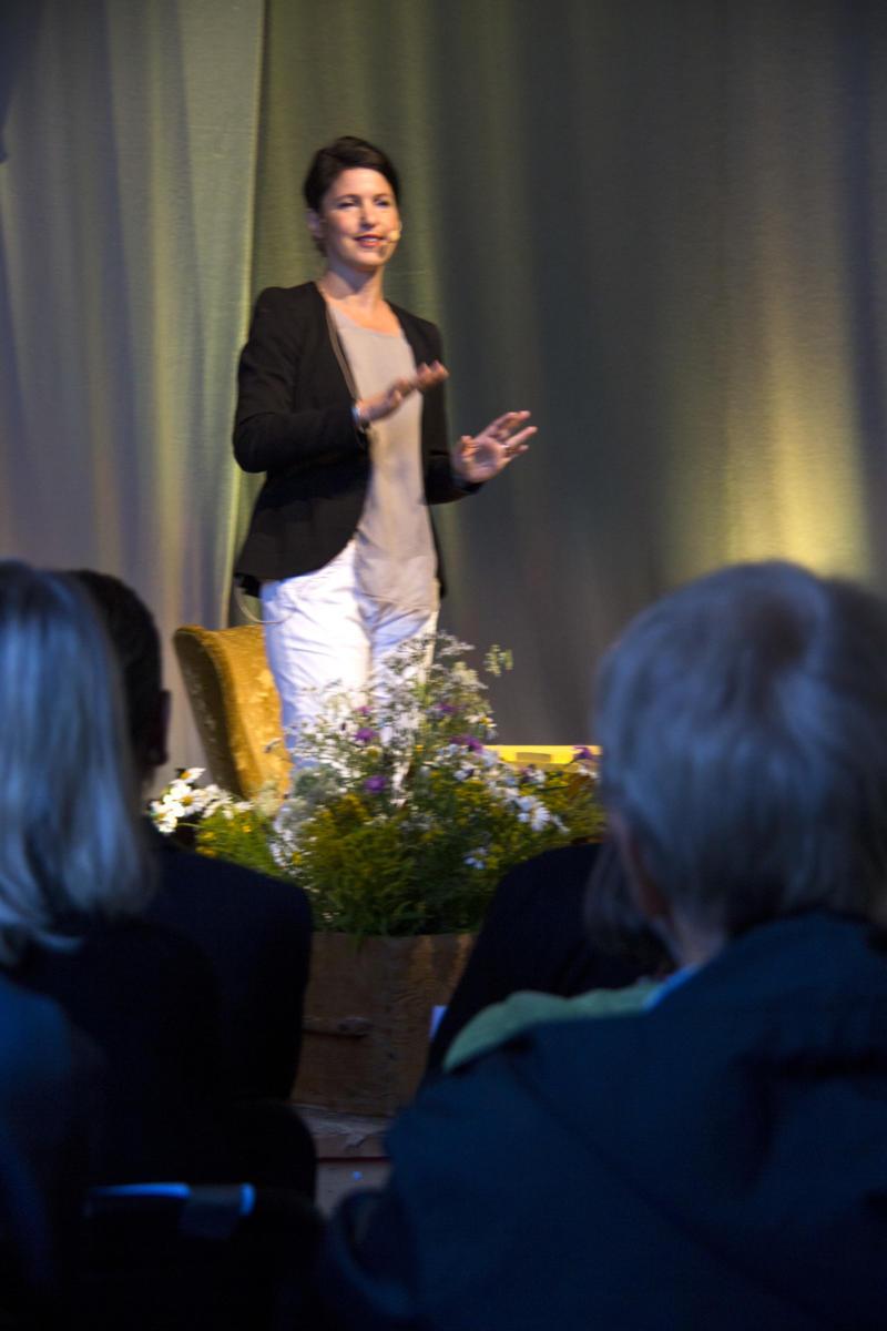 Kristina Sandberg scenen