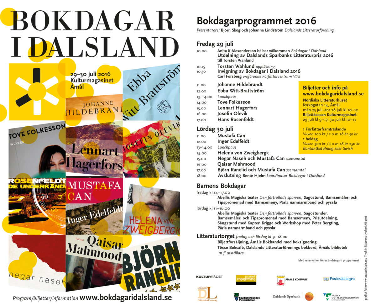 Bokdagarprogram 2016